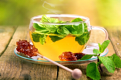 Image result for peppermint tea